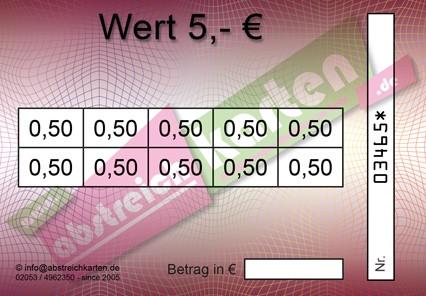 Clean Card Classik HKS18 von www.abstreichkarten.de