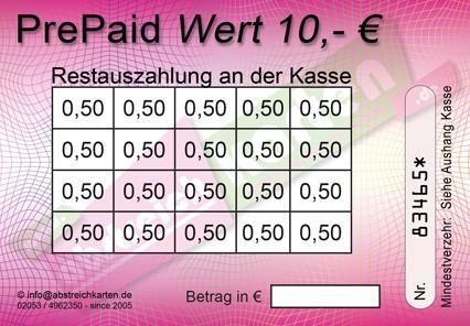 10 € Abstreichkarte HKS27